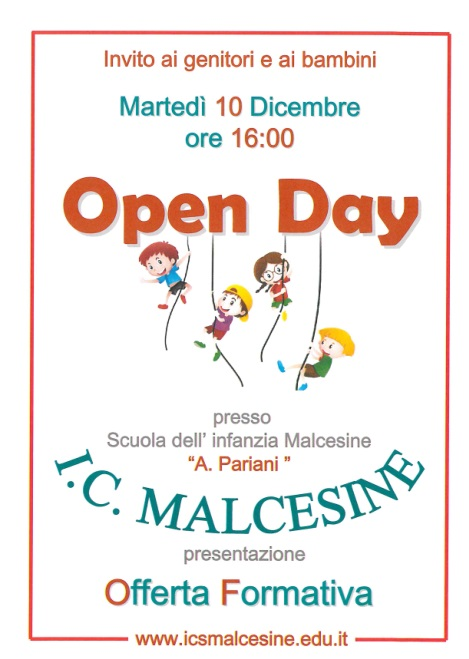 Open Day Mlcesine