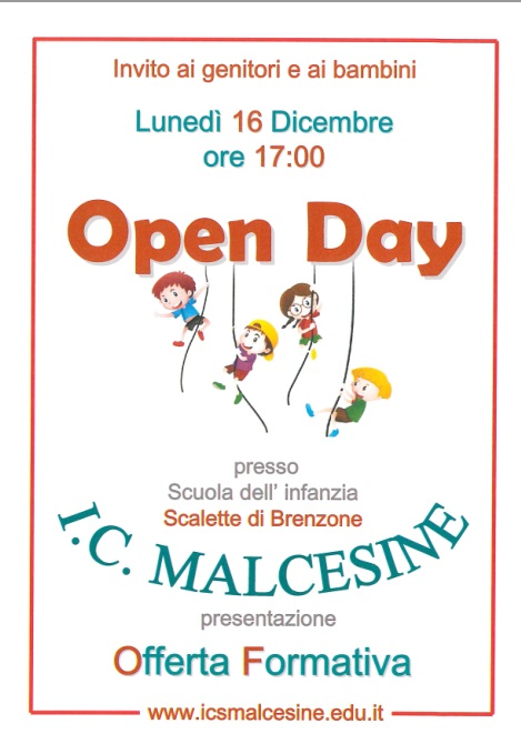 Open Day Scalette